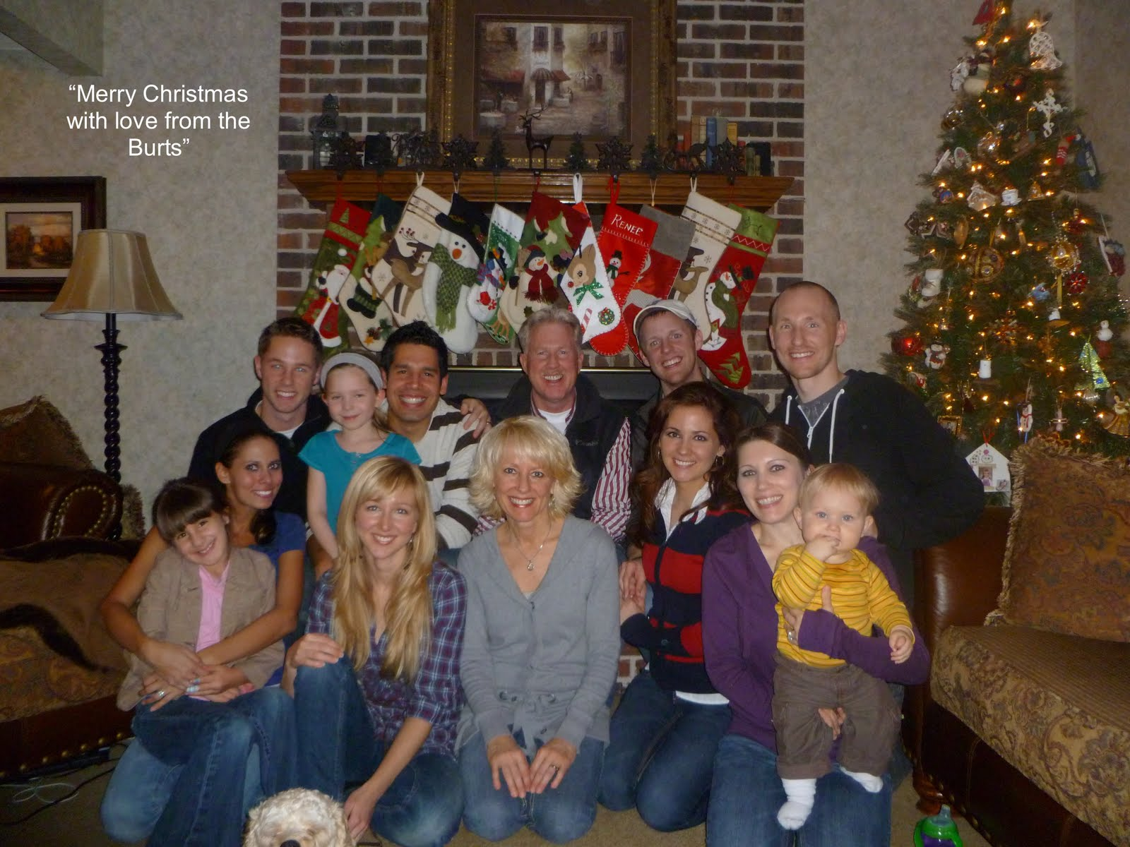 Merry Christmas From Pastor Tim Burt Inspirational