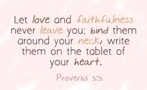 proverbs 3-3 love and faithfulness